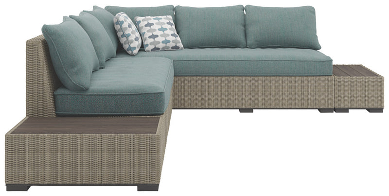 CORNERSTONE HOME INTERIORS - SILENT BROOK 3-PIECE OUTDOOR SECTIONAL SET
