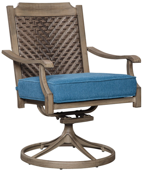CORNERSTONE HOME INTERIORS - PARTANNA SWIVEL CHAIR