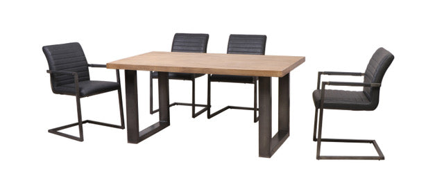 CORNERSTONE HOME INTERIORS - DINING TABLE - ZEKE DINING TABLE