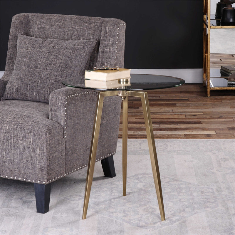 CORNERSTONE HOME INTERIORS - ARWEN ACCENT TABLE