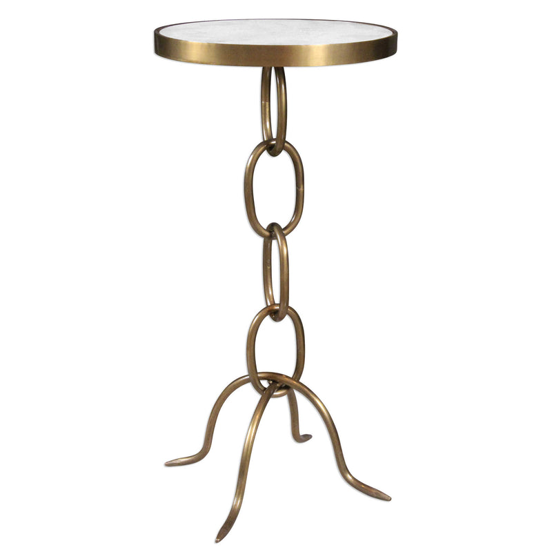 CORNERSTONE HOME INTERIORS - ACCENT TABLE - TIBER ACCENT TABLE