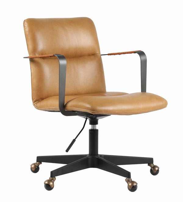 ROGER LEATHER OFFICE CHAIR