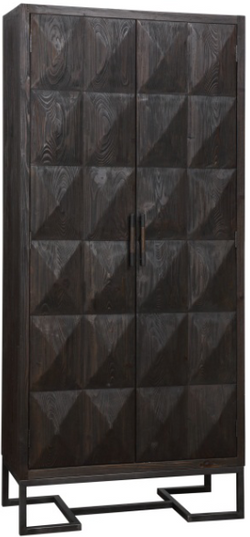 CORNERSTONE HOME INTERIORS - LIVING - AMBANI TALL CABINET