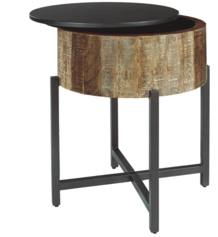 NASHBRYN ROUND END TABLE