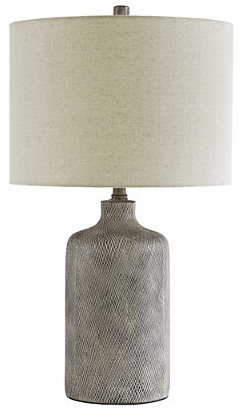 CORNERSTONE HOME INTERIORS - LAMP - LINUS CERAMIC TABLE LAMP