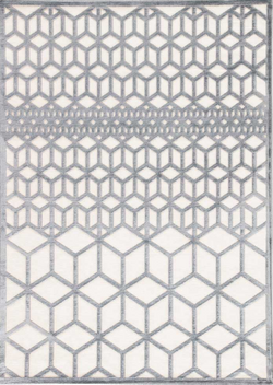 "FABLES 5' x 7'-6"" RUG IN LILY WHITE"