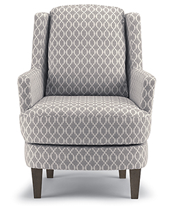 CREW SWIVEL BARREL CHAIR/DISTRESSED PECAN