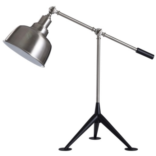 BLACKBURN ADJUSTABLE METAL DESK LAMP