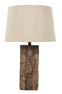 SELEMAH WOOD TABLE LAMP