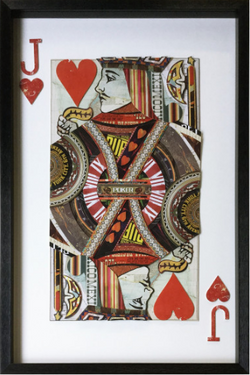 JACK OF HEARTS WALL ART