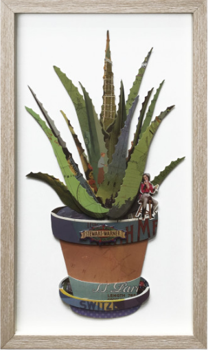 ALOE AWAY ART WORK