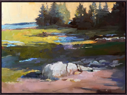 COSTAL MAINE CANVAS PAINTING