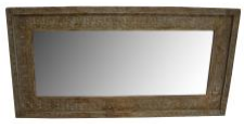 HENDRY WOODEN CARVED MIRROR
