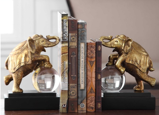 CIRCUS ACT BOOKENDS