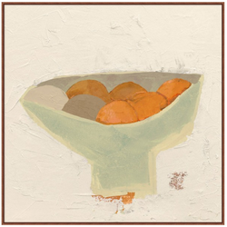 ABSTRACT FRUIT BOWL