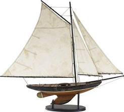 NEWPORT SLOOP SAILBOAT