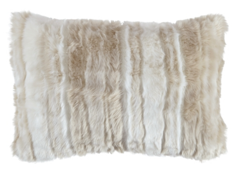 AMORET TAN ACCENT PILLOW