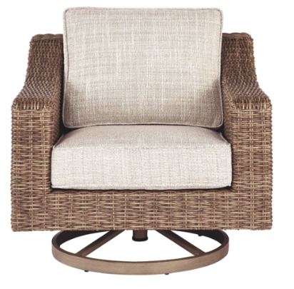 BEACHCROFT SWIVEL LOUNGE PATIO CHAIR