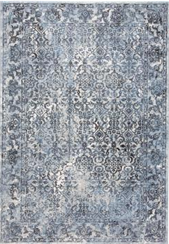 AINSLEY RUG IN BLUE/CHARCOAL