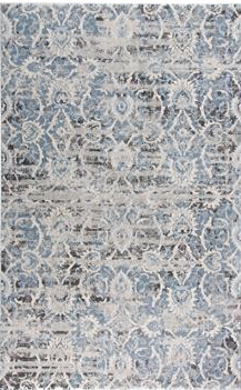 AINSLEY RUG IN BLUE/IVORY