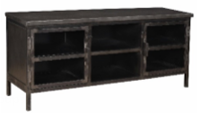 CATRINE 2 DOOR 1 SHELF TV CABINET