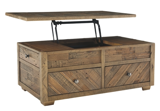 GRINDLEBURG LIFT-TOP COFFEE TABLE