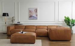 MADALINE SECTIONAL W/OTTOMAN