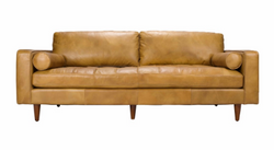 CIRCO LEATHER SOFA