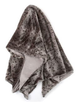 PONICA THROW-GREY