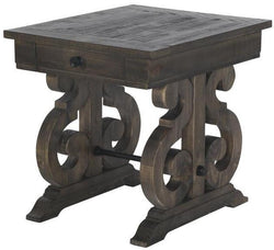 CORNERSTONE HOME INTERIORS - BELLAMY END TABLE