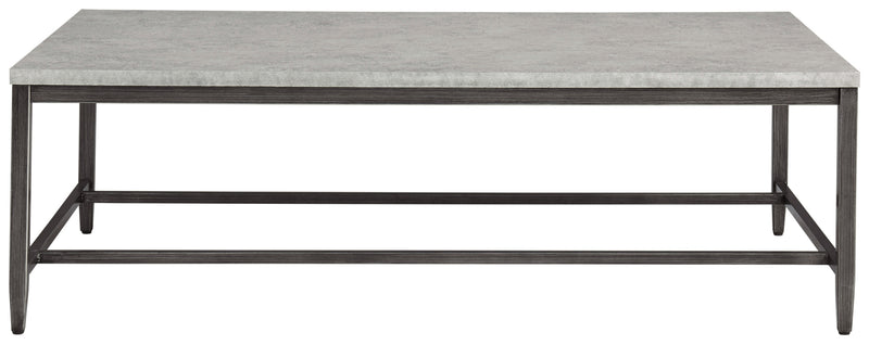 Shybourne Light Gray Rectangular Coffee Table