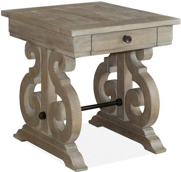 CORNERSTONE HOME INTERIORS - TINLEY PARK END TABLE