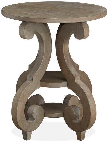 CORNERSTONE HOME INTERIORS - TINLEY PARK ACCENT TABLE