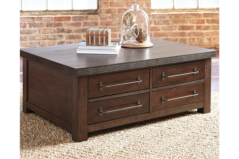 CORNERSTONE HOME INTERIORS - STARMORE COCKTAIL TABLE WITH STORAGE