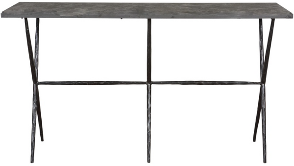 CORNERSTONE HOME INTERIORS - SOROS CONSOLE TABLE