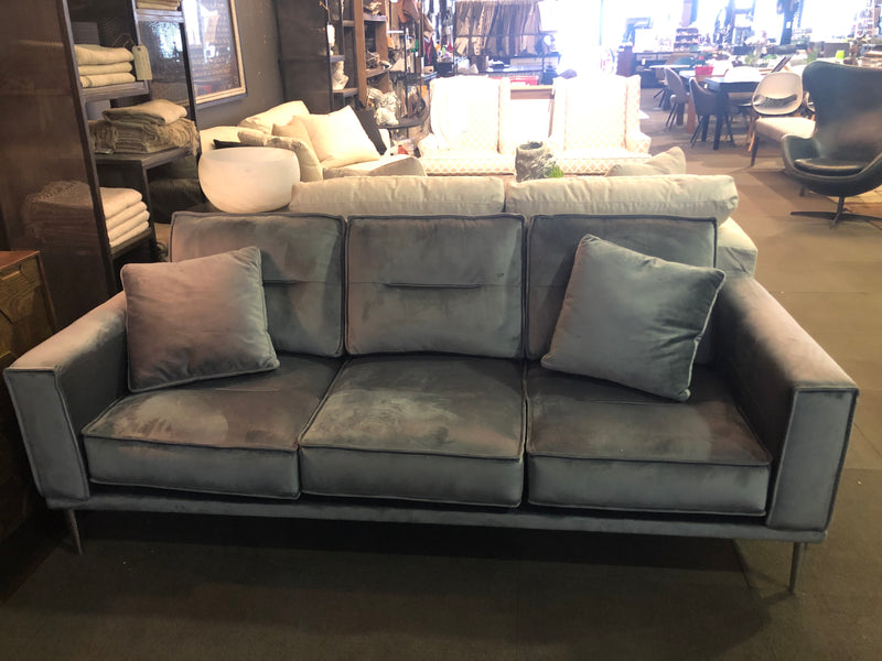 MACLEARY GREY SOFA