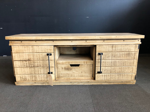 SHARBOT 2-DOOR 1-DRAWER TV CABINET