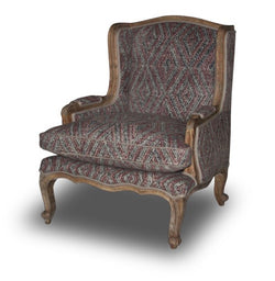 CORNERSTONE HOME INTERIORS - ACCENT CHAIR - FRENCH STYLE ACCENT CHAIR