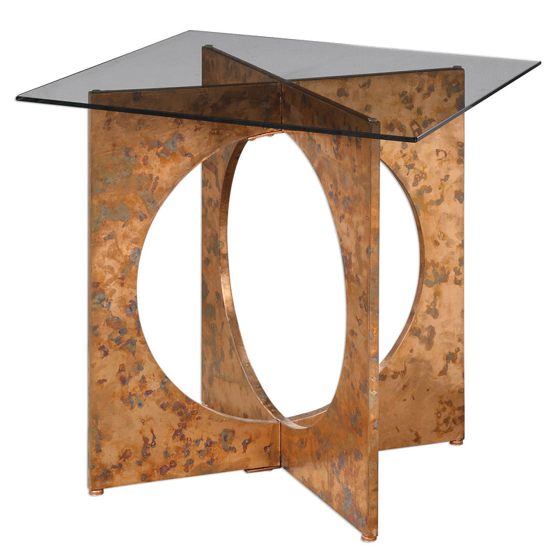 CORNERSTONE HOME INTERIORS - DARRY ACCENT TABLE