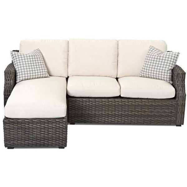 CORNERSTONE HOME INTERIORS - CASCADE SOFA WITH CHAISE