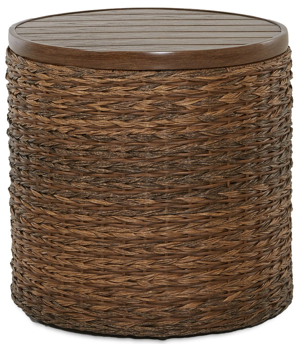 CORNERSTONE HOME INTERIORS - OUTDOOR - LANTANA END TABLE