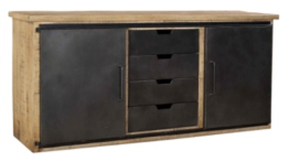 LISTOWEL 2-DOOR 4-DRAWER SIDEBOARD