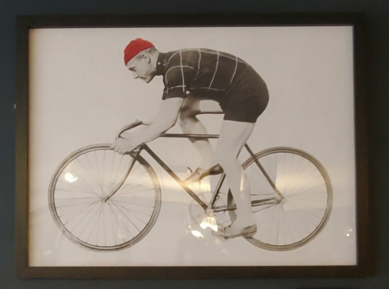 CYCLIST WALL ART