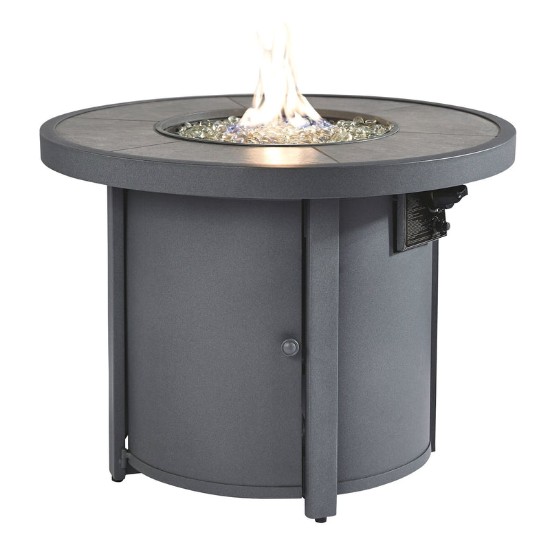 ROUND FIRE-PIT TABLE