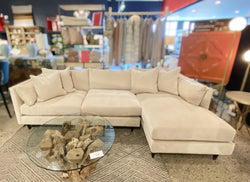 PIA SOFA W/CHAISE