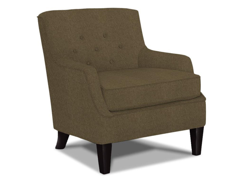 CORNERSTONE HOME INTERIORS - CECIL CLUB CHAIR (STONE FABRIC)