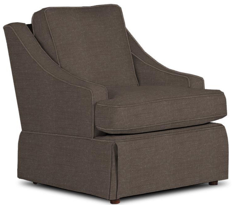 CORNERSTONE HOME INTERIORS - AYLA CLUB CHAIR (IN CHARCOAL #22933)