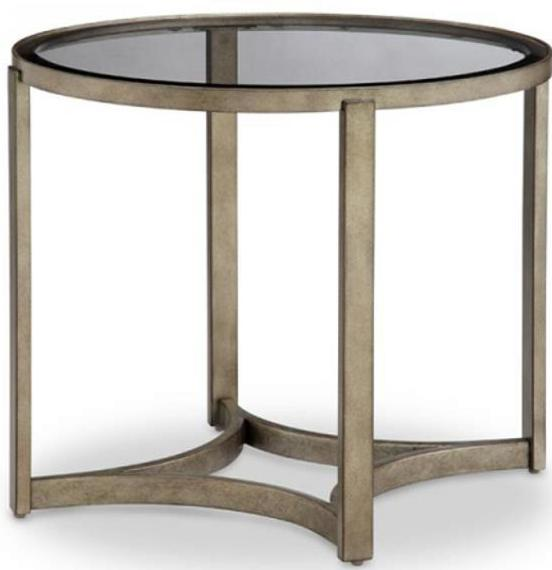CORNERSTONE HOME INTERIORS - FRISCO OVAL END TABLE