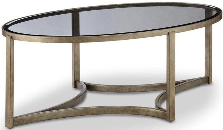 CORNERSTONE HOME INTERIORS - FRISCO OVAL COFFEE TABLE
