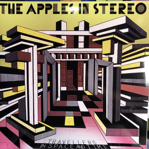 THE APPLES IN STEREO - TRAVELLERS IN SPACE AND TIME 2LP (YEP ROC RECORDS)